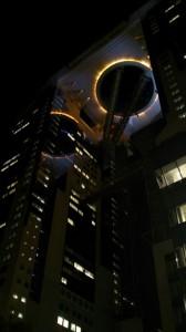 夜のスカイビル