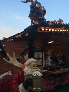 東京スカイツリーのクリスマスマーケット